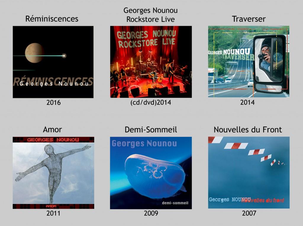 Georges Nounou discographie site